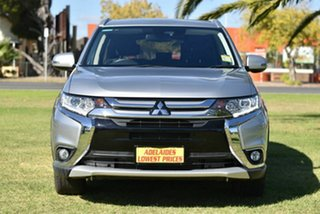 2017 Mitsubishi Outlander ZK MY18 LS AWD Safety Pack Silver 6 Speed Sports Automatic Wagon.