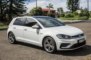 2019 Volkswagen Golf 7.5 MY20 110TSI DSG Highline White 7 Speed Sports Automatic Dual Clutch.