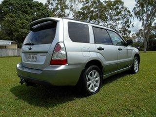 2007 Subaru Forester MY07 X Luxury Silver 5 Speed Manual Wagon