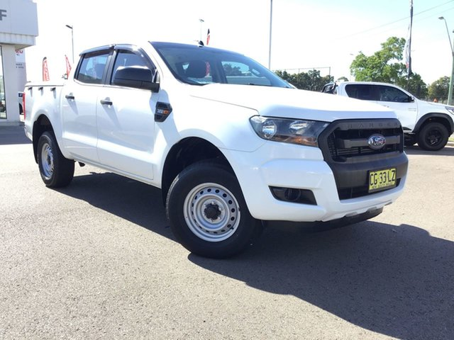 Pre-Owned Ford Ranger PX MkII XL Cardiff, 2015 Ford Ranger PX MkII XL White 6 Speed Sports Automatic Cab Chassis