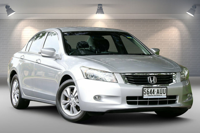 Used Honda Accord 8th Gen VTi-L Nailsworth, 2008 Honda Accord 8th Gen VTi-L Silver 5 Speed Sports Automatic Sedan