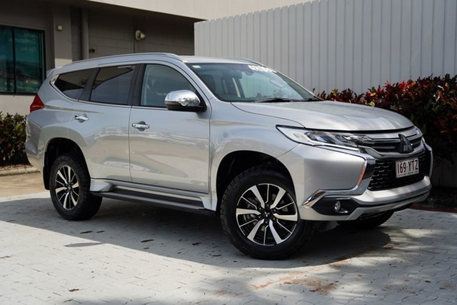 Used Mitsubishi Pajero Sport QE MY19 GLS Cairns, 2019 Mitsubishi Pajero Sport QE MY19 GLS Sterling Silver 8 Speed Sports Automatic Wagon