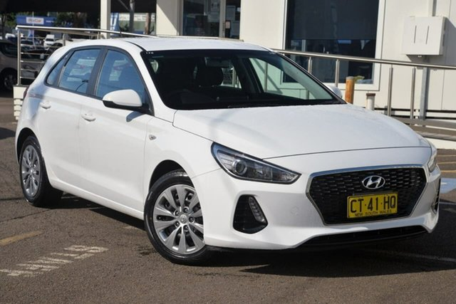 Used Hyundai i30 PD MY19 Go North Gosford, 2019 Hyundai i30 PD MY19 Go White 6 Speed Sports Automatic Hatchback
