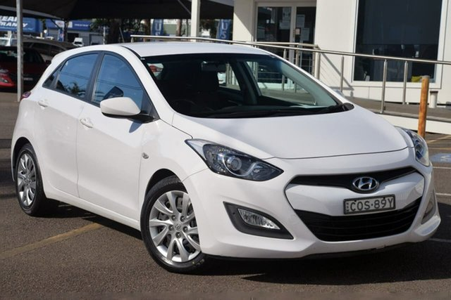 Used Hyundai i30 GD Active North Gosford, 2013 Hyundai i30 GD Active White 6 Speed Sports Automatic Hatchback