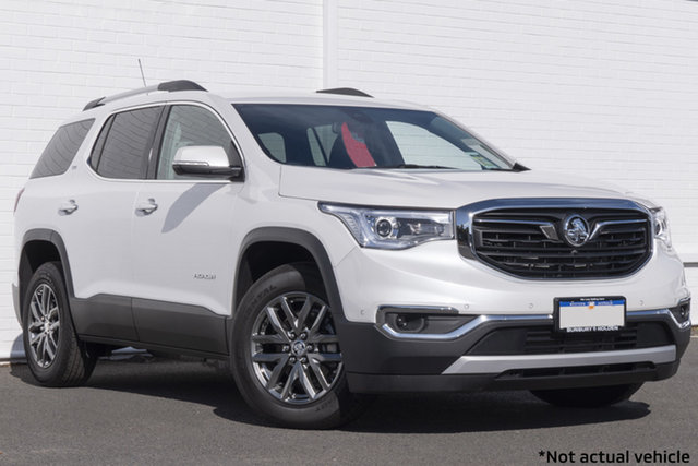 Used Holden Acadia AC MY19 LTZ AWD Bunbury, 2018 Holden Acadia AC MY19 LTZ AWD Abalone White 9 Speed Sports Automatic Wagon