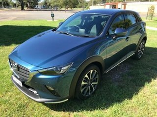 2019 Mazda CX-3 DK MY19 S Touring (FWD) Blue 6 Speed Automatic Wagon.
