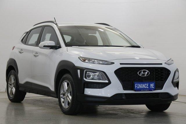 Used Hyundai Kona OS MY18 Active 2WD Victoria Park, 2018 Hyundai Kona OS MY18 Active 2WD White 6 Speed Sports Automatic Wagon
