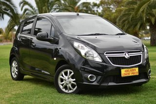 2014 Holden Barina TM MY14 CD Black 5 Speed Manual Hatchback.