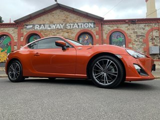 2012 Toyota 86 ZN6 GTS Orange/gery 6 Speed Manual Coupe