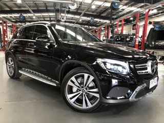 2017 Mercedes-Benz GLC250 253 MY18 Black 9 Speed Automatic Wagon.