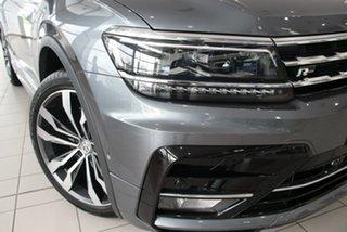 2020 Volkswagen Tiguan 5N MY21 162TSI Highline DSG 4MOTION Allspace Deep Black Pearl Effect 7 Speed.