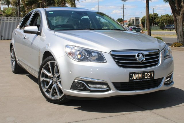 Used Holden Calais VF II V West Footscray, 2016 Holden Calais VF II V Silver 6 Speed Automatic Sedan