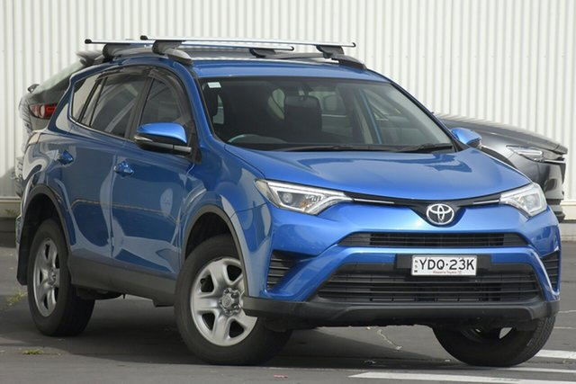 Used Toyota RAV4 ZSA42R GX 2WD Wollongong, 2016 Toyota RAV4 ZSA42R GX 2WD Blue 7 Speed Constant Variable Wagon