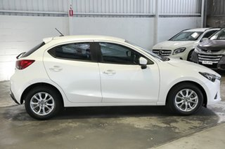 2016 Mazda 2 DJ2HAA Maxx SKYACTIV-Drive White 6 Speed Sports Automatic Hatchback