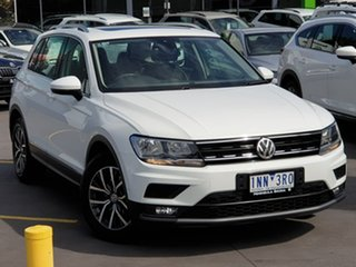 2018 Volkswagen Tiguan 5N MY18 110TSI DSG 2WD Comfortline White 6 Speed Sports Automatic Dual Clutch.