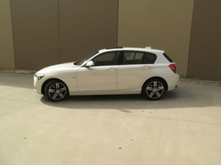 2013 BMW 118i F20 118i Pearlescent White 8 Speed Sports Automatic Hatchback