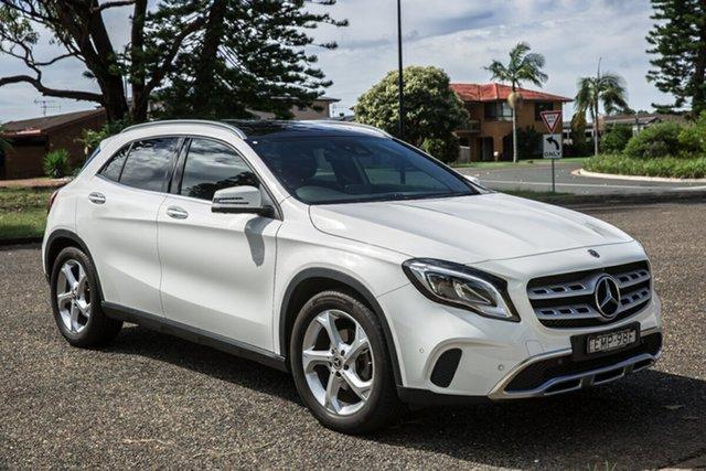 Used Mercedes-Benz GLA-Class X156 808+058MY GLA220 d DCT Port Macquarie, 2018 Mercedes-Benz GLA-Class X156 808+058MY GLA220 d DCT Polar White 7 Speed