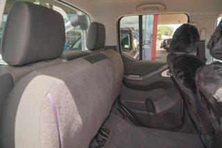2013 Nissan Navara D40 S6 MY12 ST White 6 Speed Manual Utility
