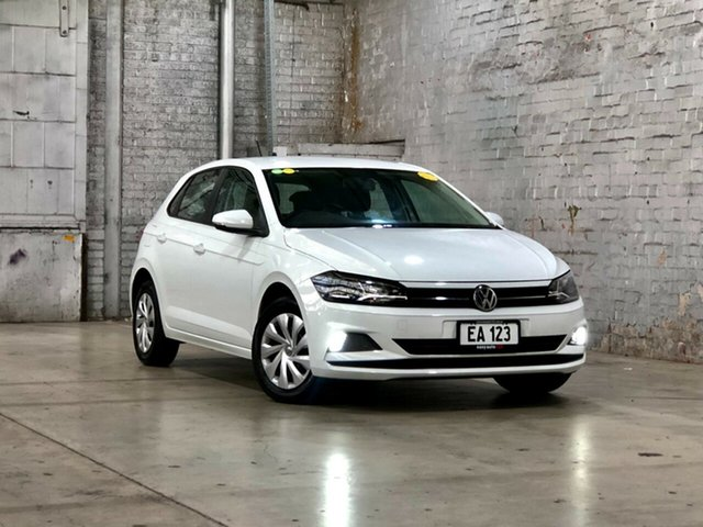 Used Volkswagen Polo AW MY18 70TSI Trendline Mile End South, 2017 Volkswagen Polo AW MY18 70TSI Trendline White 5 Speed Manual Hatchback