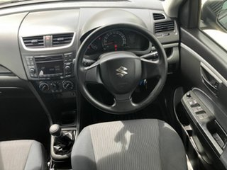 2013 Suzuki Swift FZ MY13 GL Grey 5 Speed Manual Hatchback