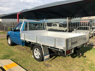 2010 Mazda BT-50 09 Upgrade Boss B2500 DX Blue 5 Speed Manual Cab Chassis.