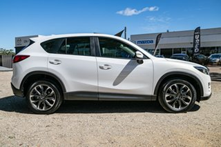 2016 Mazda CX-5 KE1032 Grand Touring SKYACTIV-Drive AWD Crystal White Pearl 6 Speed Sports Automatic