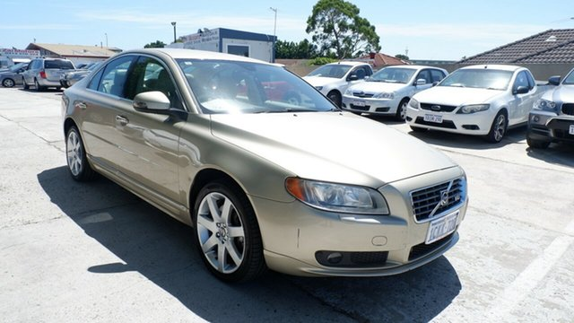 Used Volvo S80 A Series MY07 V8 AWD St James, 2007 Volvo S80 A Series MY07 V8 AWD Gold 6 Speed Sports Automatic Sedan