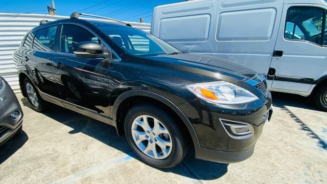 Used Mazda CX-9 TB10A4 MY11 Grand Touring Maidstone, 2011 Mazda CX-9 TB10A4 MY11 Grand Touring Black 6 Speed Sports Automatic Wagon