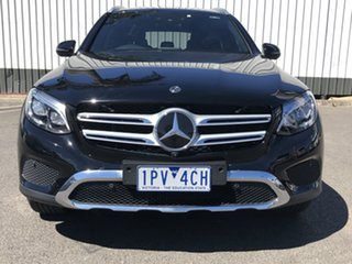2017 Mercedes-Benz GLC250 253 MY18 Black 9 Speed Automatic Wagon