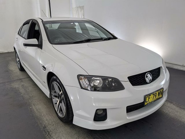 Used Holden Commodore VE II SV6 Maryville, 2010 Holden Commodore VE II SV6 White 6 Speed Sports Automatic Sedan