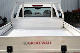 2019 Great Wall Steed K2 MY18 White 6 Speed Manual Cab Chassis