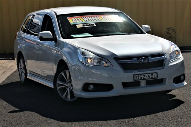 Used Subaru Liberty B5 MY14 2.5i Lineartronic AWD Cheltenham, 2013 Subaru Liberty B5 MY14 2.5i Lineartronic AWD White 6 Speed Constant Variable Wagon