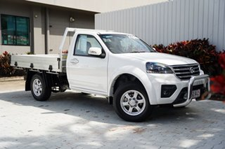 2019 Great Wall Steed K2 MY18 White 6 Speed Manual Cab Chassis.