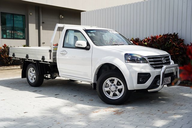 Used Great Wall Steed K2 MY18 Cairns, 2019 Great Wall Steed K2 MY18 White 6 Speed Manual Cab Chassis