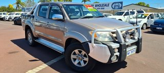 2006 Toyota Hilux GGN25R MY05 SR5 Gold 5 Speed Automatic Utility.