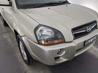 2008 Hyundai Tucson JM MY07 City Elite Silver 4 Speed Sports Automatic Wagon.