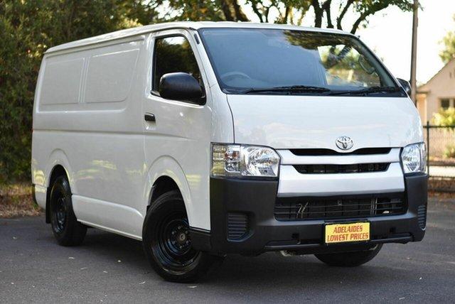 Used Toyota HiAce TRH201R MY14 LWB Melrose Park, 2014 Toyota HiAce TRH201R MY14 LWB White 4 Speed Automatic Van