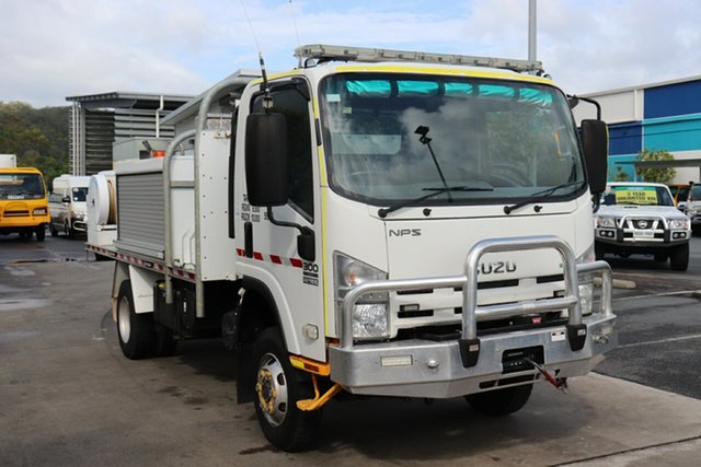 Used Isuzu NPS300 4x4 Robina, 2012 Isuzu NPS300 4x4 White Manual Firetruck