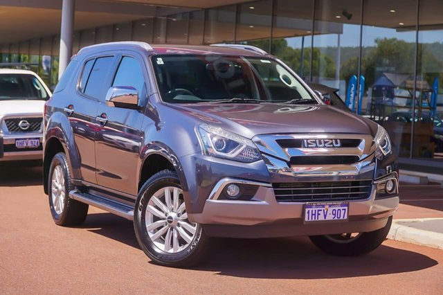 Used Isuzu MU-X MY17 LS-T Rev-Tronic Gosnells, 2017 Isuzu MU-X MY17 LS-T Rev-Tronic Grey 6 Speed Sports Automatic Wagon