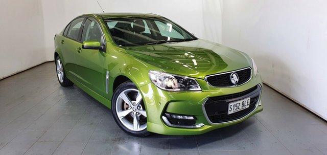 Used Holden Commodore VF II MY16 SV6 Elizabeth, 2016 Holden Commodore VF II MY16 SV6 Green 6 Speed Sports Automatic Sedan