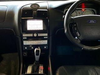 2006 Ford Fairlane BF Ghia Black 6 Speed Sports Automatic Sedan