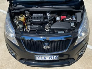 2011 Holden Barina Spark MJ MY11 CD Black 5 Speed Manual Hatchback