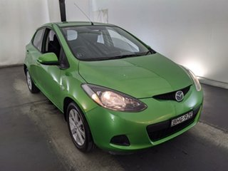 2008 Mazda 2 DE10Y1 Neo Green 5 Speed Manual Hatchback