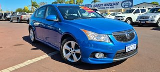 2013 Holden Cruze JH Series II MY13 SRi-V Blue 6 Speed Manual Hatchback.