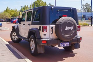 2008 Jeep Wrangler JK Unlimited Sport White 6 Speed Manual Softtop