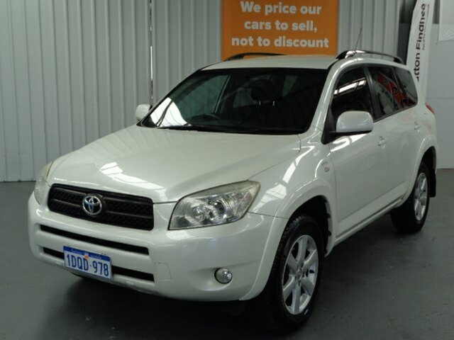 Used Toyota RAV4 ACA33R Cruiser Rockingham, 2006 Toyota RAV4 ACA33R Cruiser White 4 Speed Automatic Wagon
