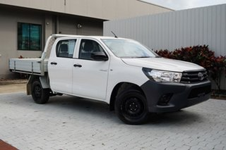 2016 Toyota Hilux TGN121R Workmate Double Cab 4x2 6 Speed Sports Automatic Utility.