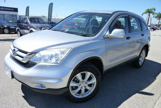 Used Honda CR-V RE MY2011 4WD Cheltenham, 2011 Honda CR-V RE MY2011 4WD Silver 5 Speed Automatic Wagon