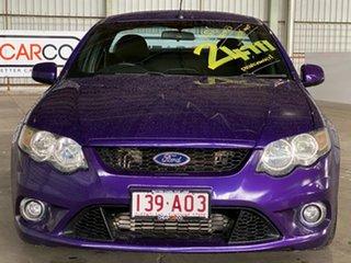2009 Ford Falcon FG XR6 Ute Super Cab Turbo Purple 6 Speed Sports Automatic Utility