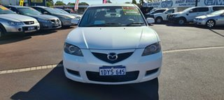 2007 Mazda 3 BK10F2 Neo Pearl White 4 Speed Sports Automatic Sedan.